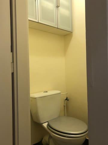 Toilette séparée (partagée)