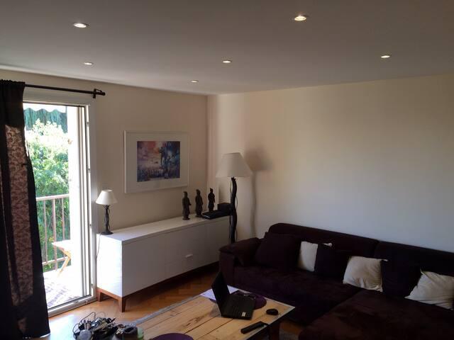 APPART 55m² 2 PIECES RESIDENCE CALME PARIS NORD - Eaubonne - Condominium