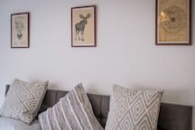 'The waves' V Large seaside apartment, nr to Golf