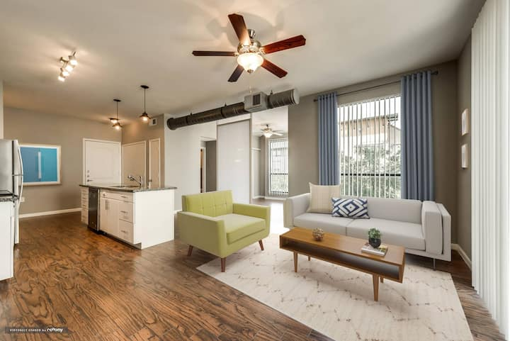 Comforts of home | 1BR in Plano