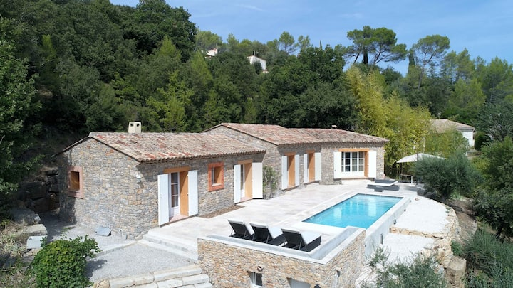 Le Mas des Oliviers 140m2 w. pool, views & privacy