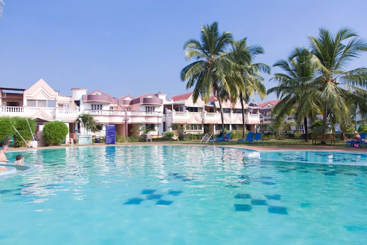 Lotus INNGOA Holiday Homes £1 - Benaulim - Byt