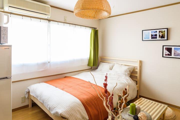 203/ Relaxed room/ 5 min from Shinjuku - Nakano-ku - Daire