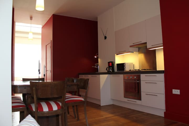 Apartment on ground floor - Bryssel - Huoneisto