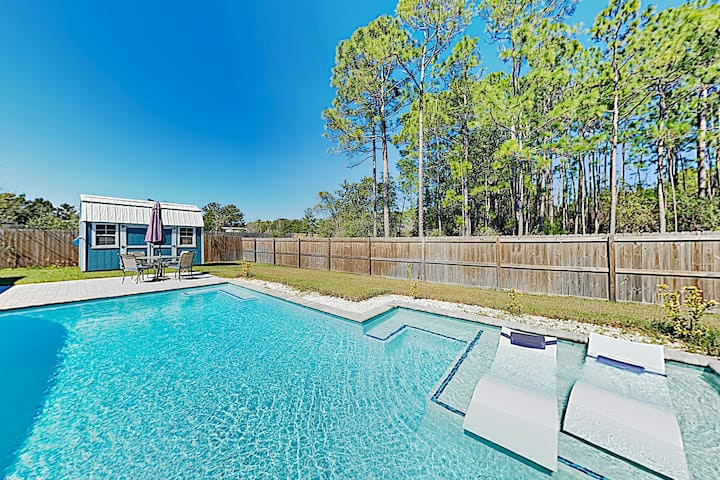 New Listing! Custom Home: Private Pool, Near Beach