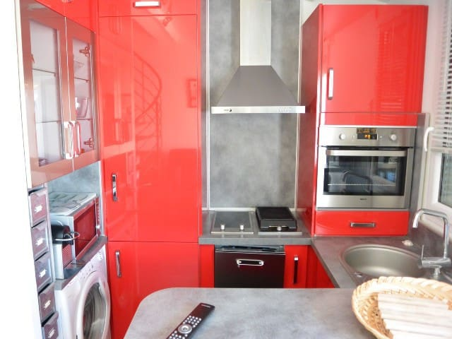 Comfortable T2 for 4 people in Cap d'Agde