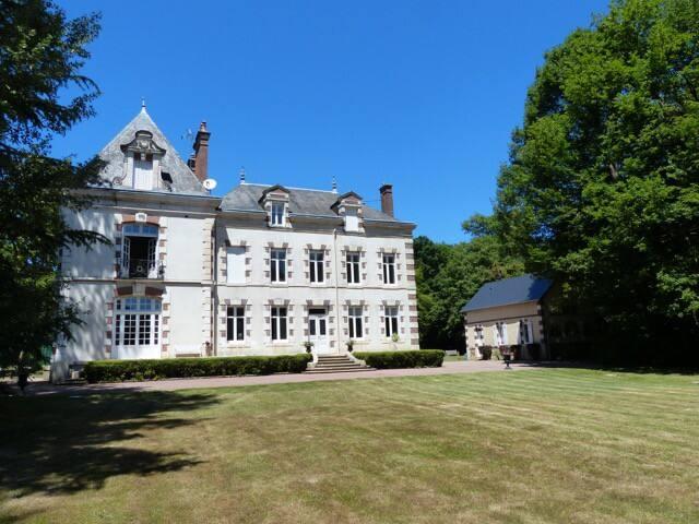 Grande maison de Maître et son parc de 3 hectares