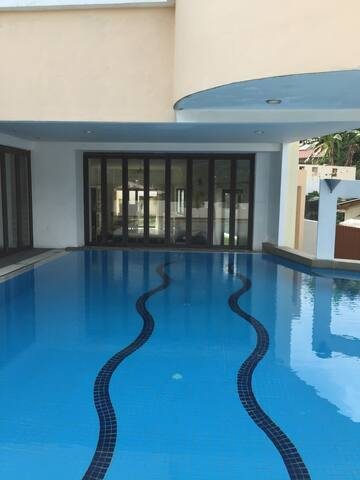 Resort style home with private pool and gym