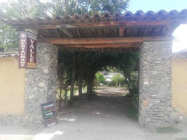 Habitación matrimonial en Hotel Valle Sagrado