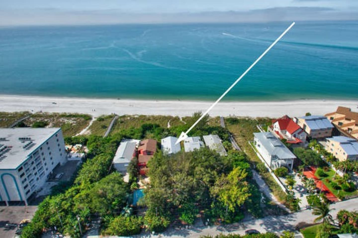Direct beach front home !
