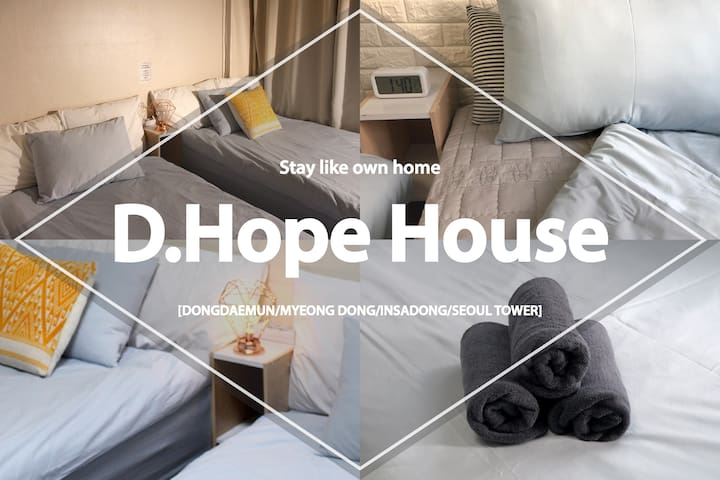 **CLEAN,SAFE**Entire House@Dongdaemun/Sindang