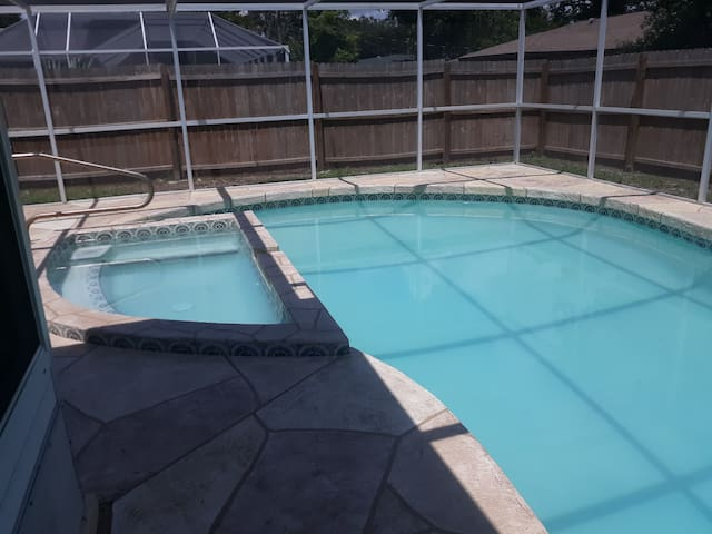 Check out our newly renovated pool home...
