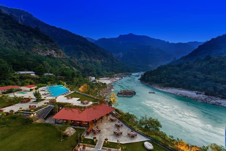 ALOHA HERITAGE RESORT ON GANGES 1 Room in 2 BR Apt - Rishikesh - Appartement