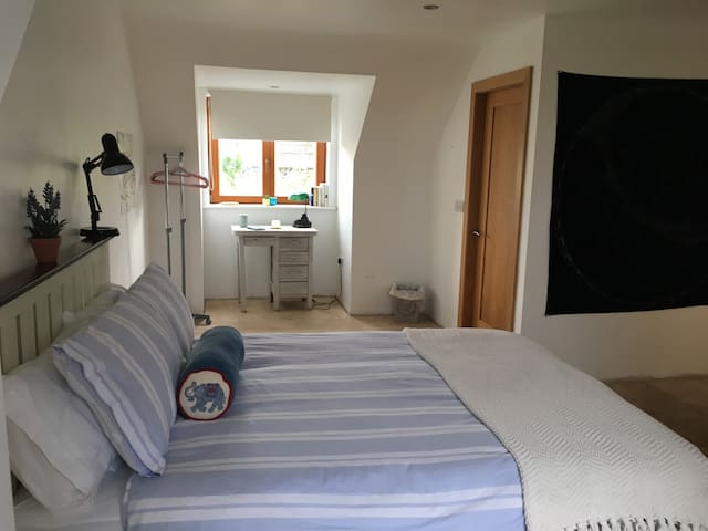 Double Room en suite overlooking Lough Corrib