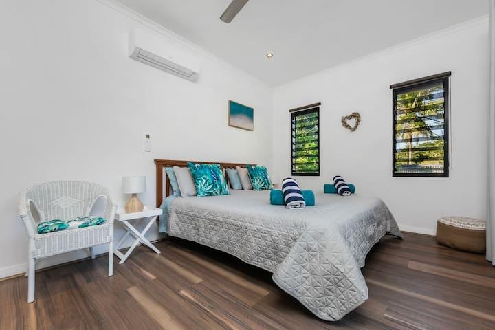 Private en-suite room upstairs