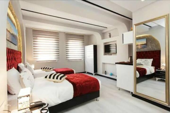 Deluxe studio apartments