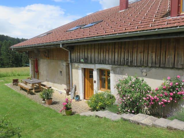 Chambres dans une ferme rénovée B&B - La Cluse-et-Mijoux