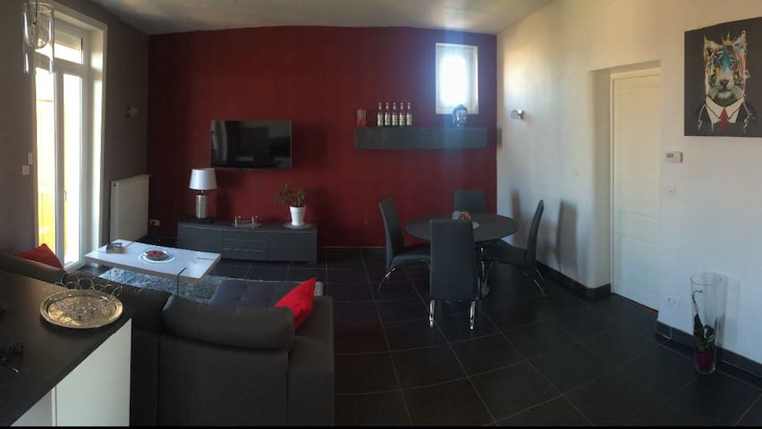 Chambre proche centre Roanne - Le Coteau - Appartement