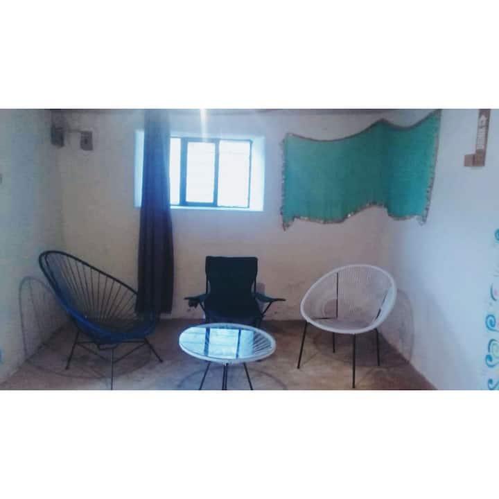 Casa La Cuevita en Real de 14, para 6 personas.