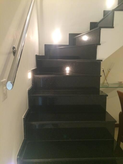 escada para cobertura
