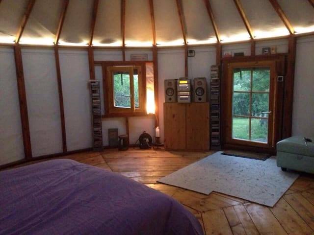 Ower Farm Yurt. Between Corfe Castle & Studland