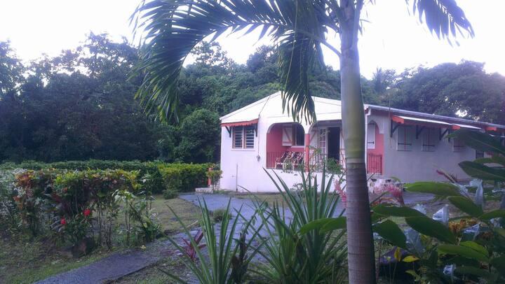 Villa LAWRENCE ile de la dominique caraibes