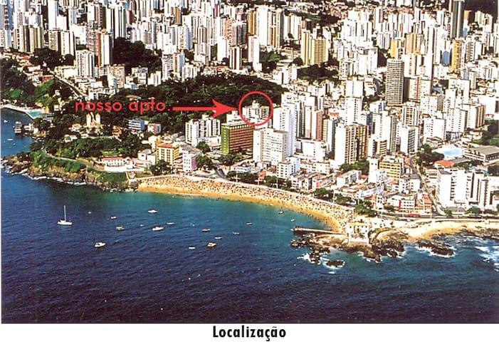 apto na Barra: Praia do Porto da Barra!! - Salvador - Apartment