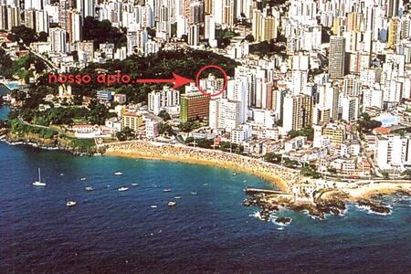 Apartamento c/garagem - Praia do Porto da Barra !!