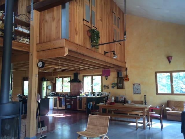 Maison/ loft avec grand jardin - Aix-en-Diois