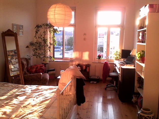 wonderfull old flat to discover the wild east - Leipzig - Apartment