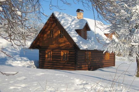 Timbered cottage in Giant Mountains - Jílové u Držkova