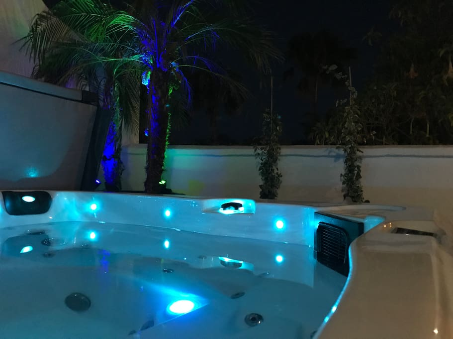 Even at night our Suites light up your evening