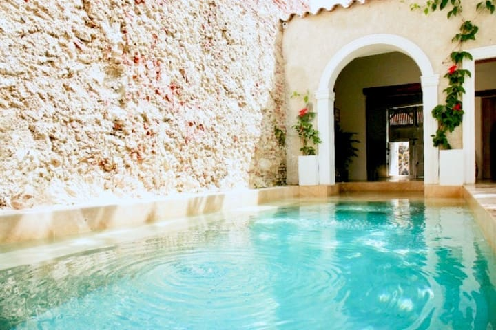 Luxury Home in Old city Cartagena (CASA ALMENDRO)