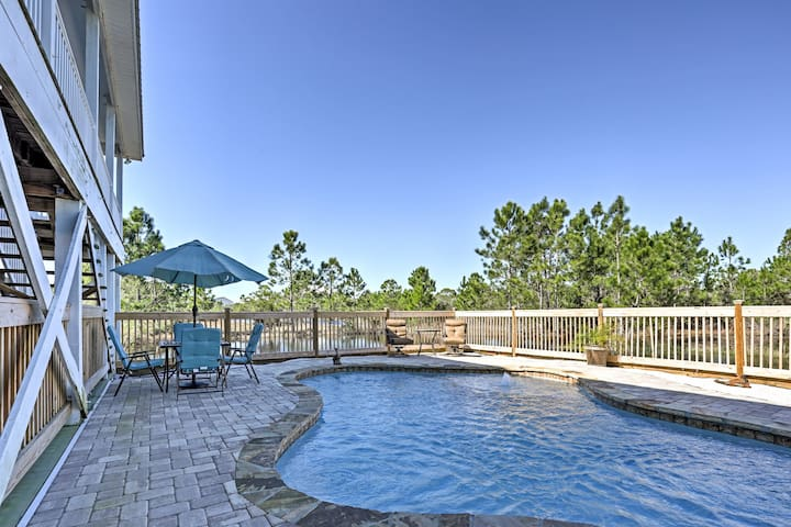 4BR Gulf Shores House w/Private Pool & Beach! - Gulf Shores - House