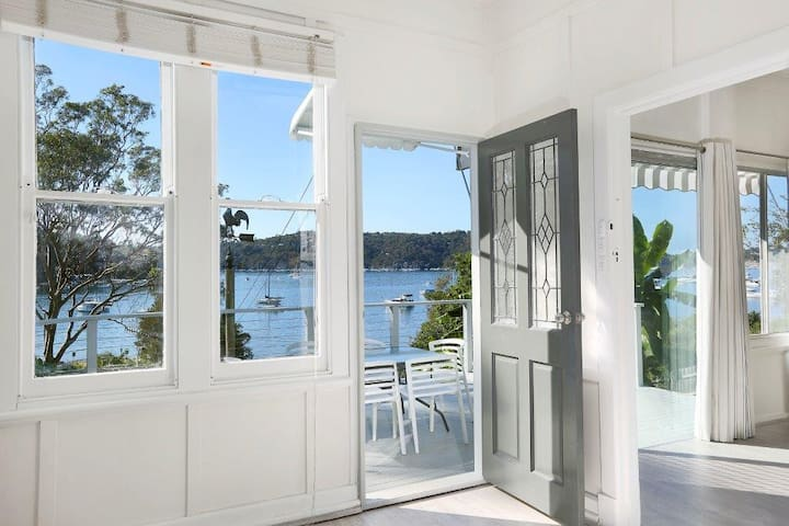 A Pittwater iconic Cottage with beach access.
