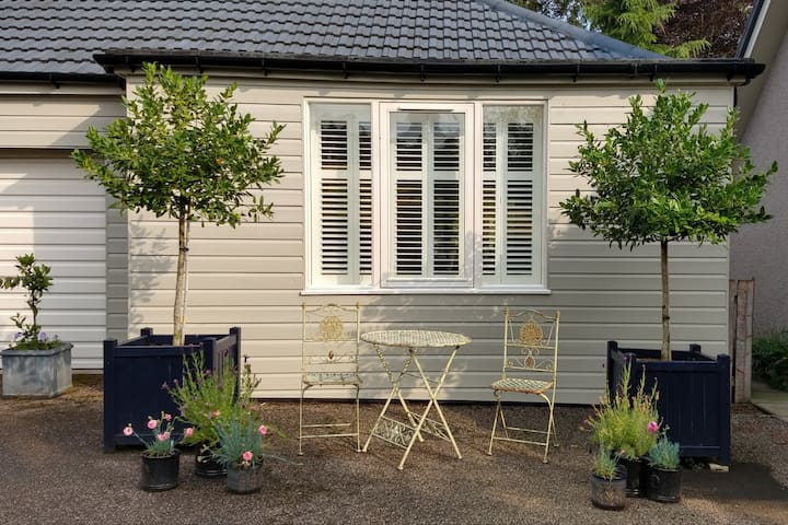Scandi style studio in rural Aberdeenshire