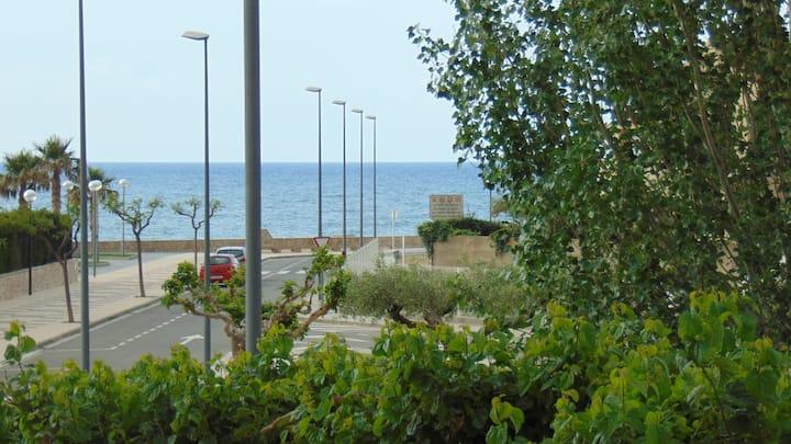 0035- Estudio con terraza con vista al mar