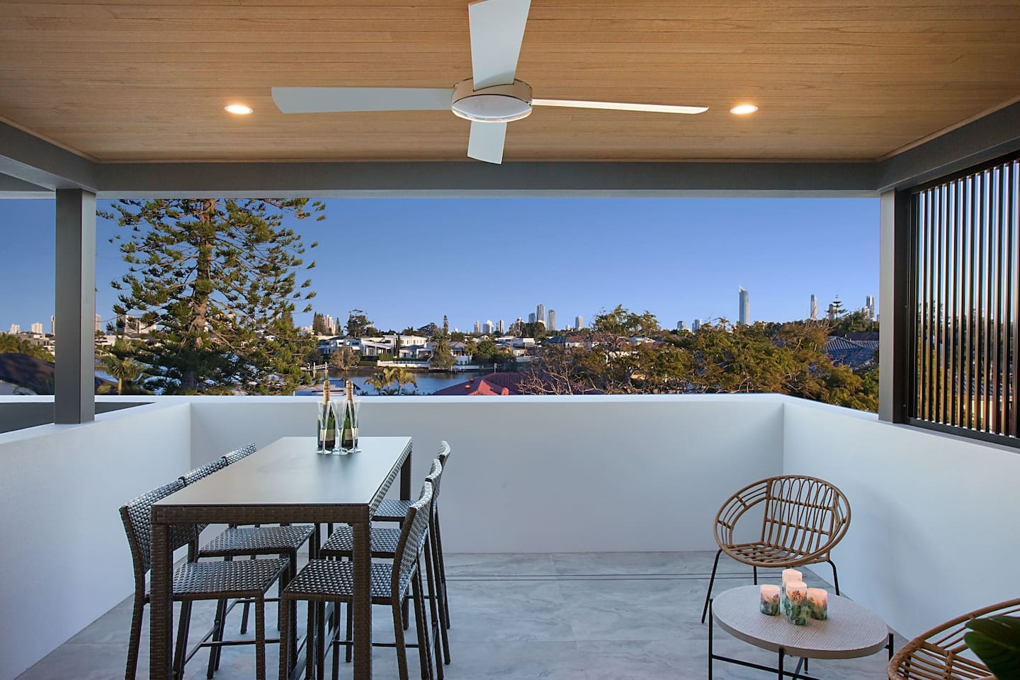 Unbeatable views from your over-sized rooftop terrace
