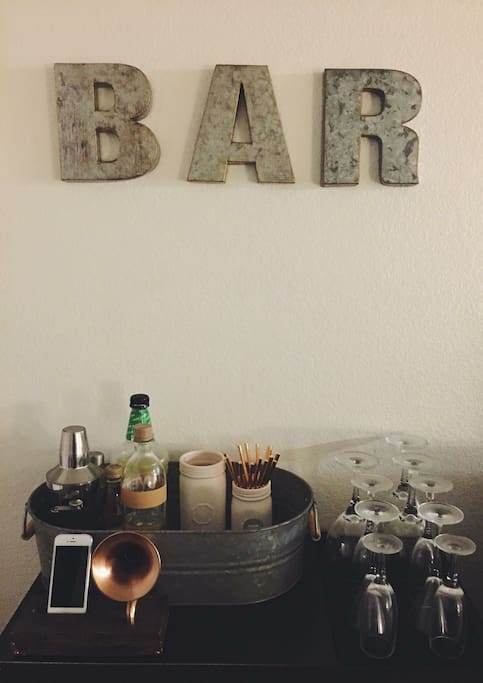 Bar area available to all guests