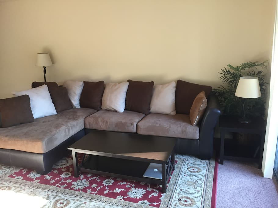 Amazing, super comfy sectional sofa