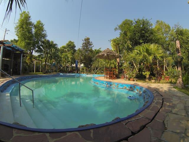 Riverside homestay - Tambon Ban Pao - 平房