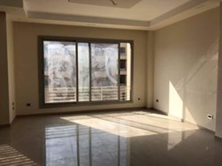 A Semi-Furnished apartment for rent in New Cairo