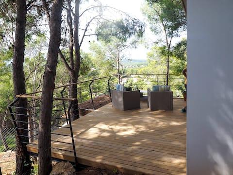 """""""Tiny Houses Olivella""""  (Lena) - cerca de Sitges"""