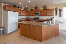 Spacious and functional kitchen