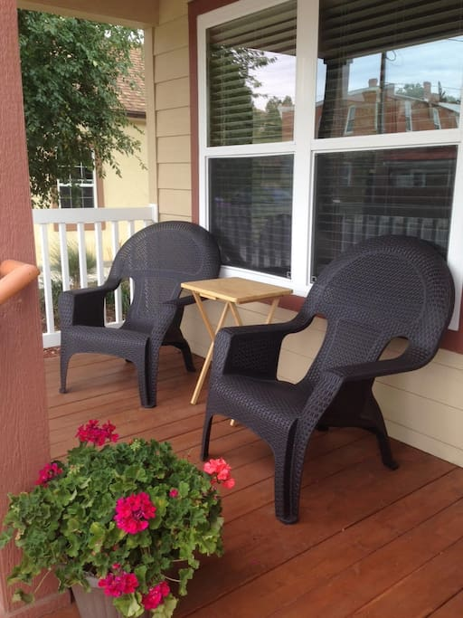Front porch lounge chairs