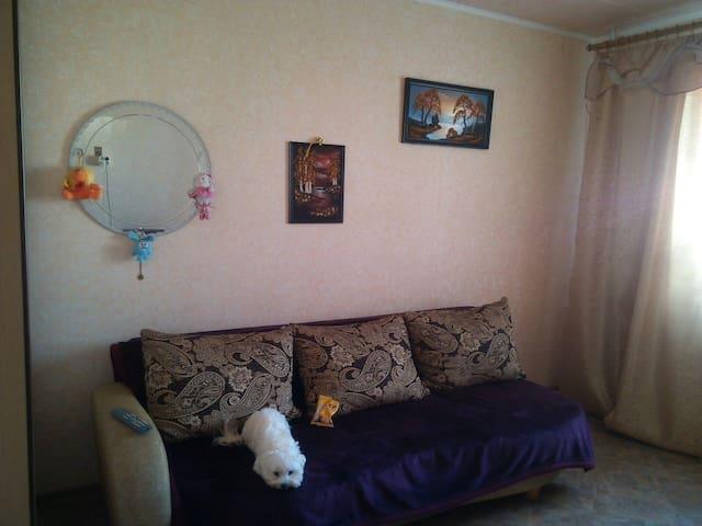 Уютная и чистая комната В центре на пр.Победителей