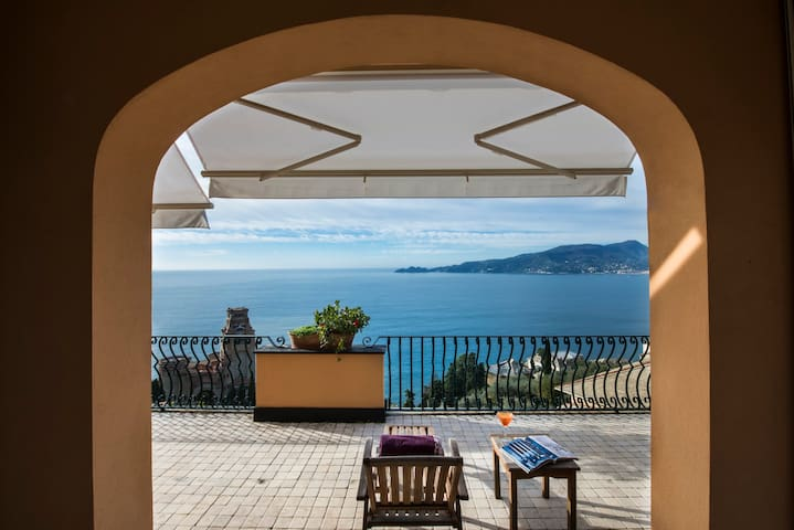 Apartment with beautiful views of Portofino - Zoagli - Flat