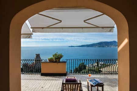 Apartment with beautiful views of Portofino - Zoagli - Huoneisto