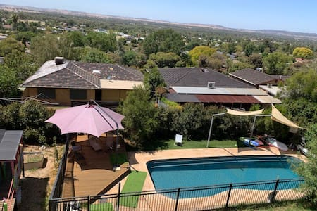 Great space, great pool, great views!