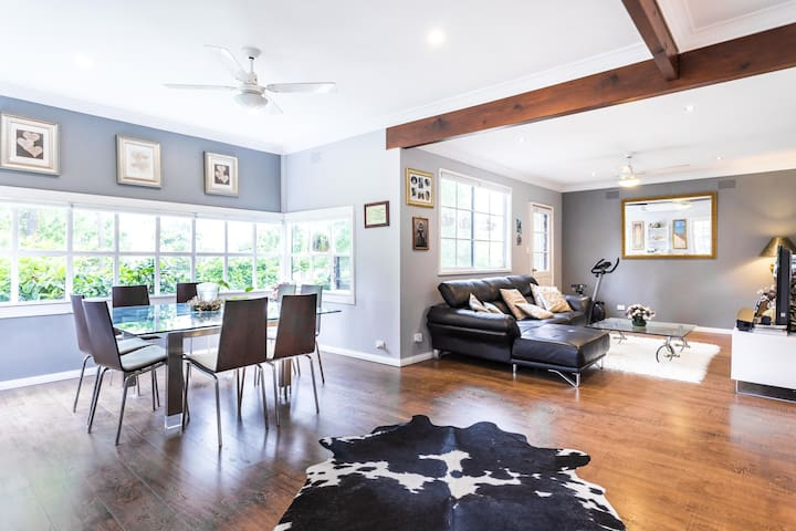 Lovely 4BR house - great location in Box Hill - Box Hill South - Haus